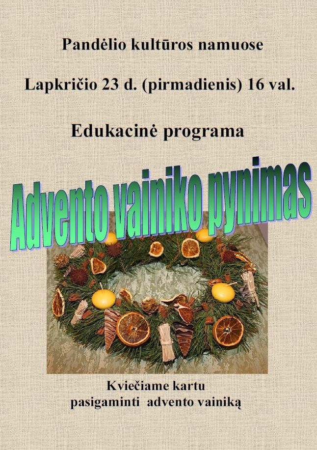 advento_vainikas_2015